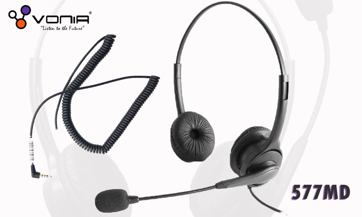Vonia DH-577MD 2.5mm Headset